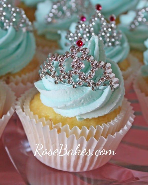 Princess Tiara Cupcake