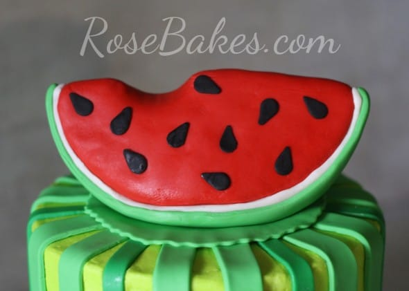 Watermelon Cake Topper