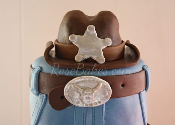 Cowboy Cake Top Tier