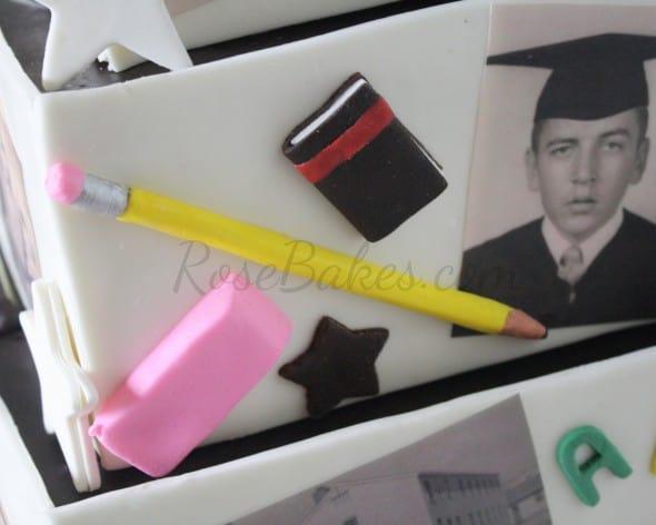Fondant Pencil Eraser Book
