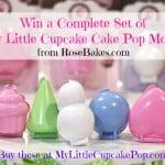 My Little Cupcake Pop Cake Pops Set
