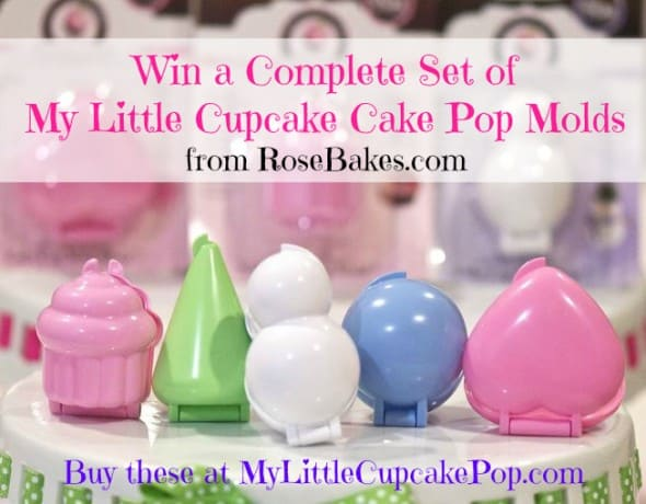 closed my little cupcake cake pop molds giveaway rose bakes. Black Bedroom Furniture Sets. Home Design Ideas