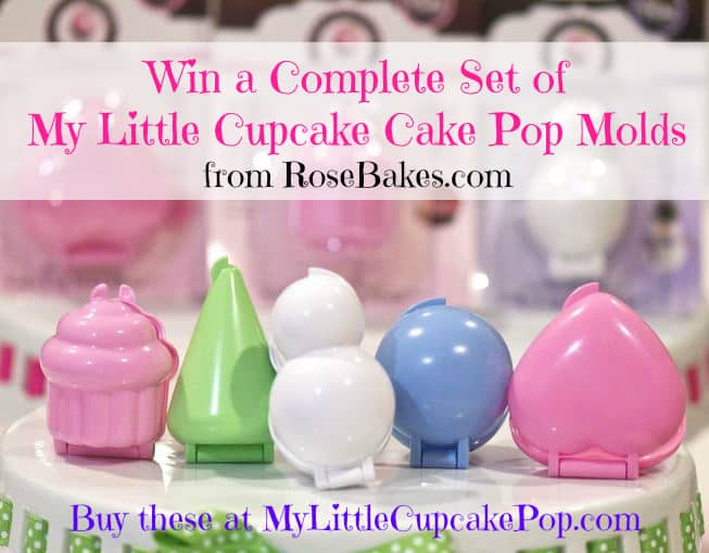 My Little Cupcake Pop Cake Pops Set