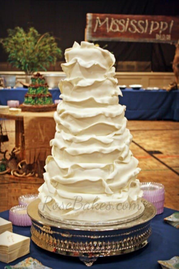 Petals Wedding Cake Inside Soft