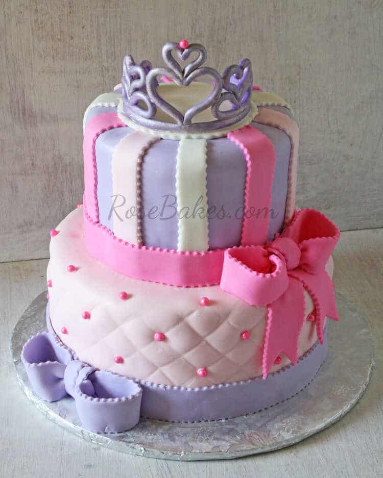 Happy Bday Summer Little Girl Cake