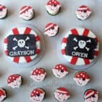 Pirate Cakes and Cupcakes