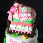 Princess and the Pea Bed Cake 2