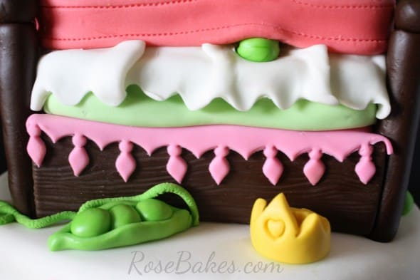 Princess and the Pea Bed Ruffles