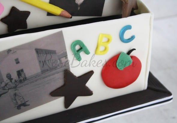 Retired Teachers 80th Birthday Cake