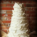 Ruffles Wedding Cake Soft