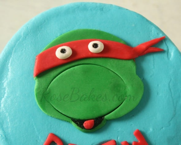 Teenage Mutant Ninja Turtle Cake Topper