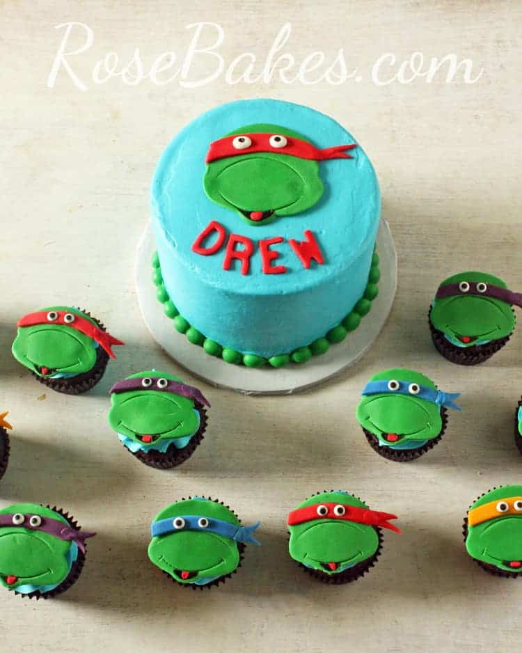 How To Decorate A Ninja Turtle Cake