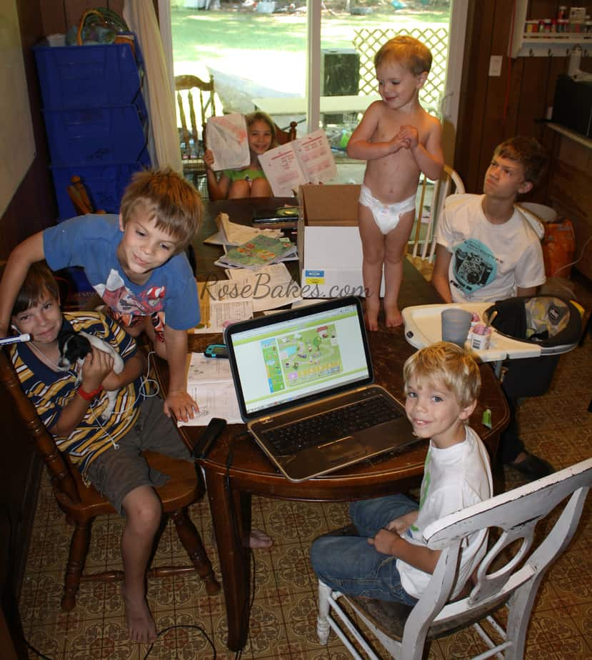 Day 1 Homeschooling 2013