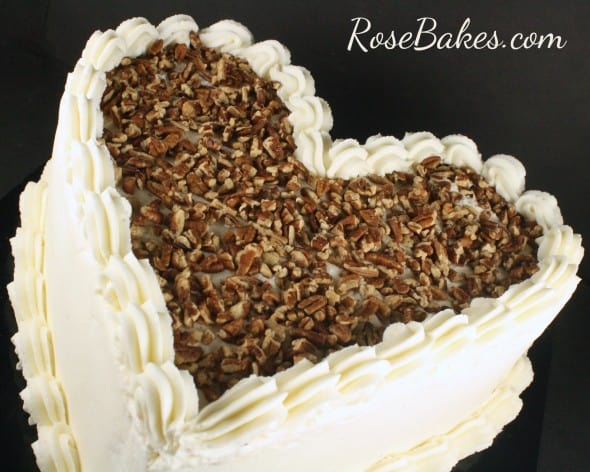 Heart Shaped Cake from Louisiana Cake