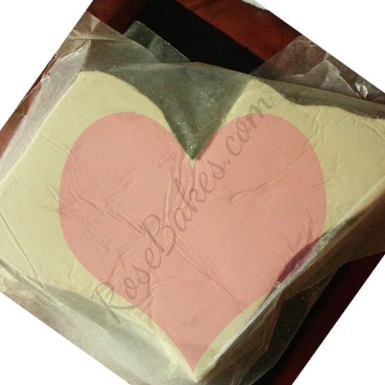 Heart from Louisiana Cake