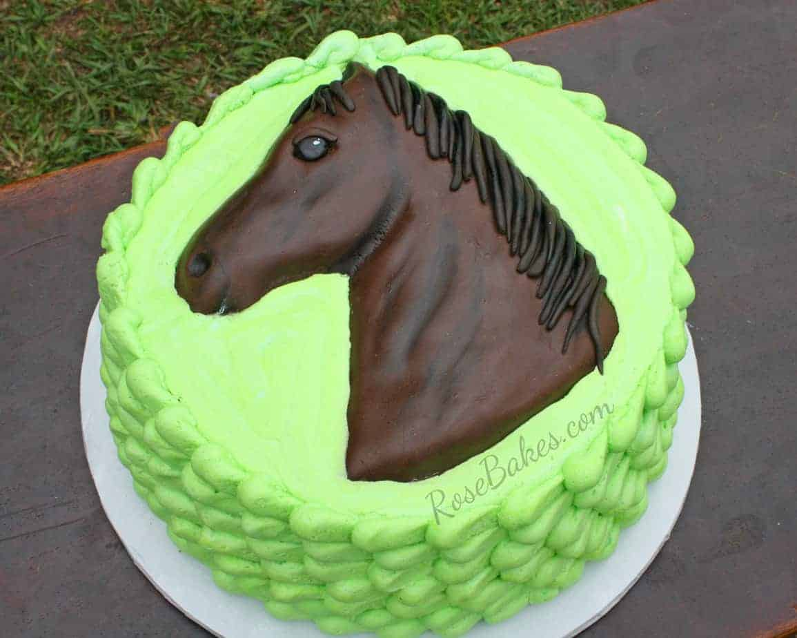 Lee S Horse Cake Rose Bakes