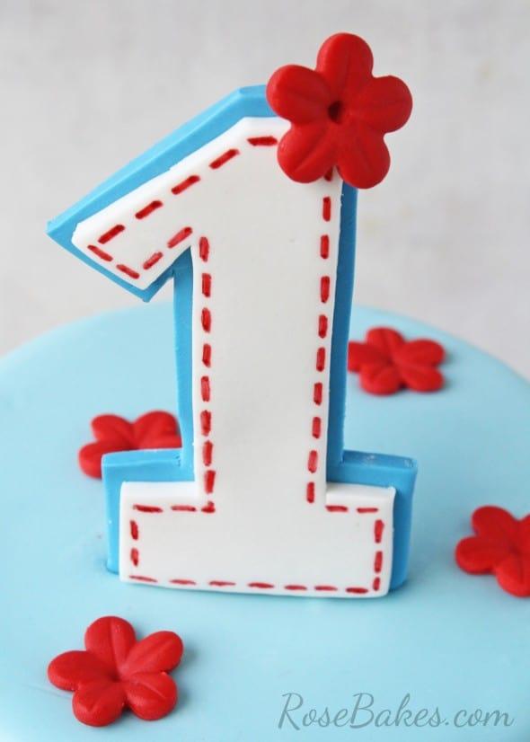 Raggedy Ann Cake Topper 1