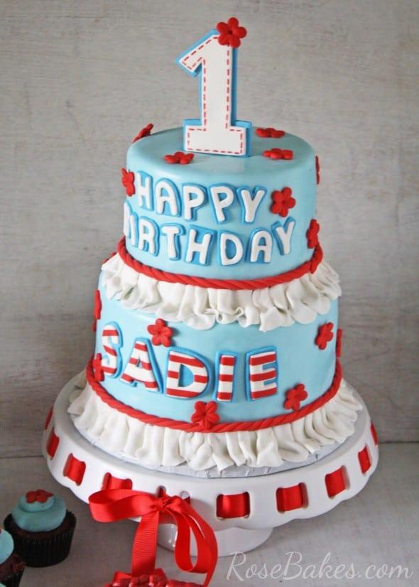 Raggedy Ann Ruffles Cake
