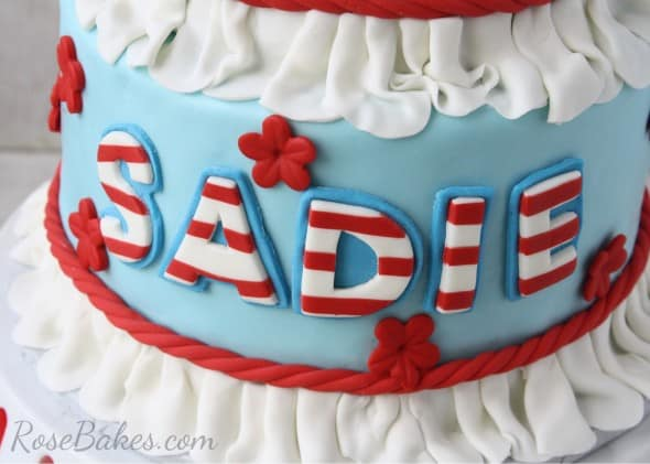 Raggedy Ann Striped Name