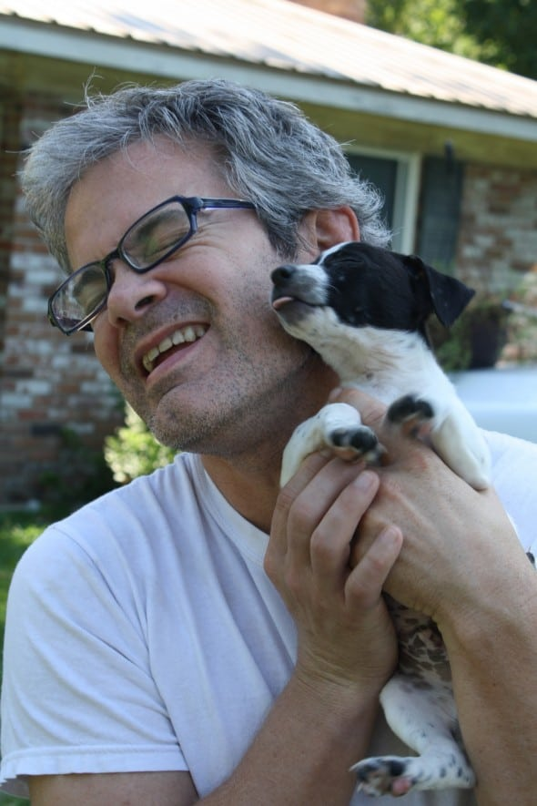 Richy with Puppy