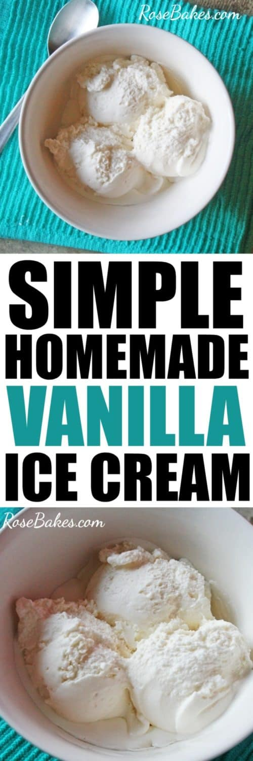 Kitchenaid Homemade Vanilla Ice Cream - Rose Bakes on rival ice cream recipe book, ice cream magic recipe book, cuisinart ice cream recipe book, krups ice cream recipe book, ice cream maker recipe book, ice cream cocktail recipe book,