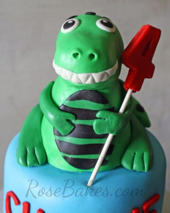 T Rex Dinosaur Cake Toppers