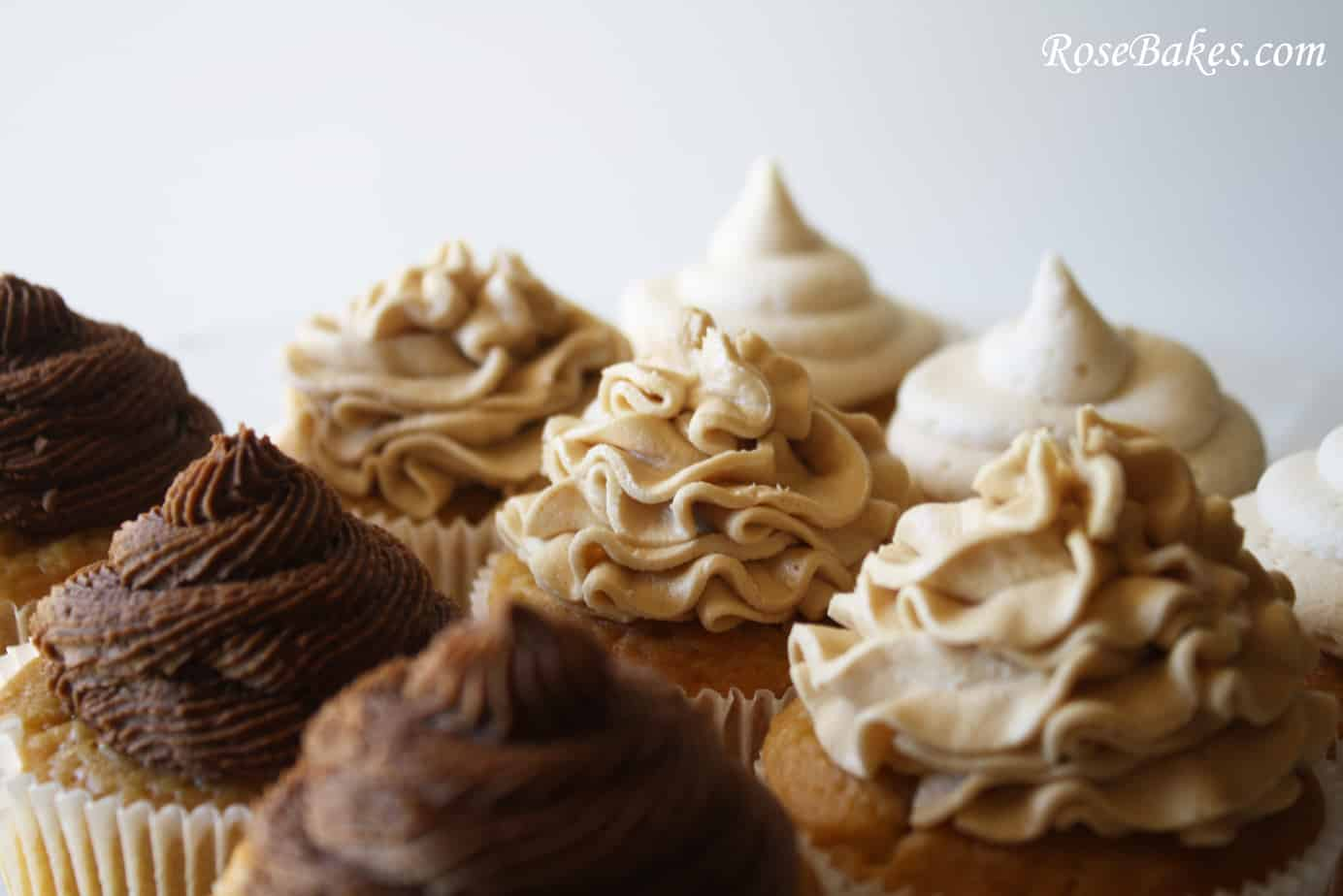 Click for the Recipe to Vanilla Coffee Cupcakes