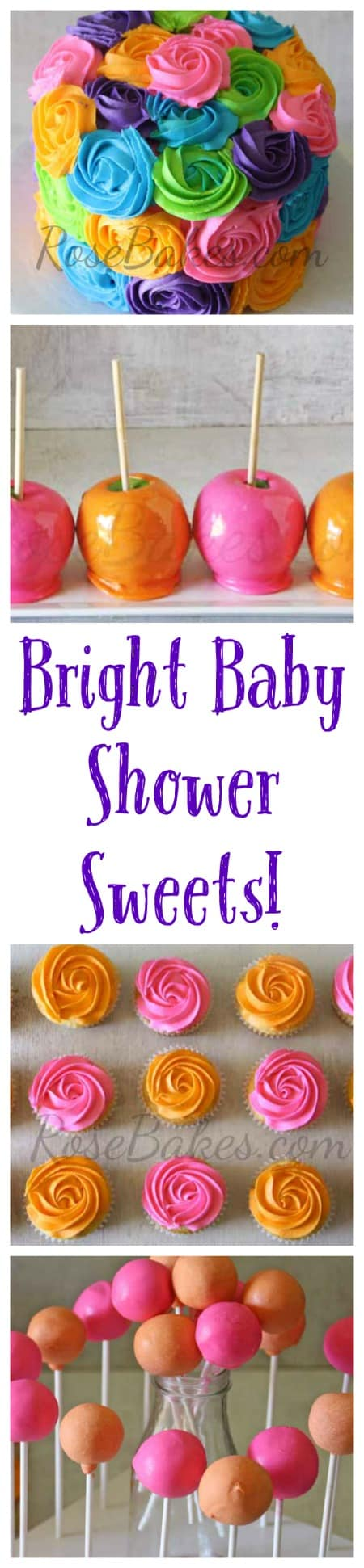 Bright Baby Shower Sweets