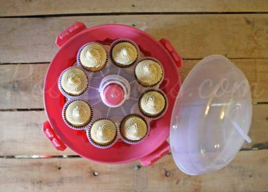 Cupcake Carrier Above
