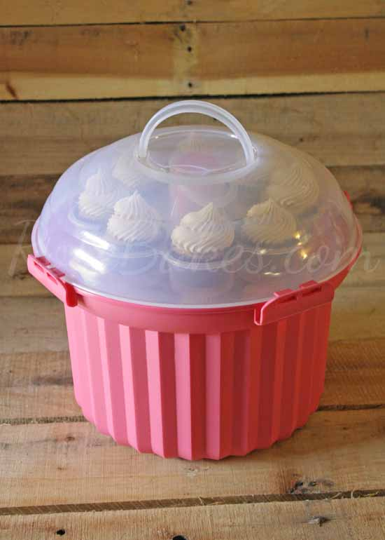 Cupcake Carrier Closed