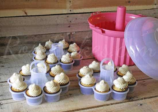 Cupcake Carrier Tiers