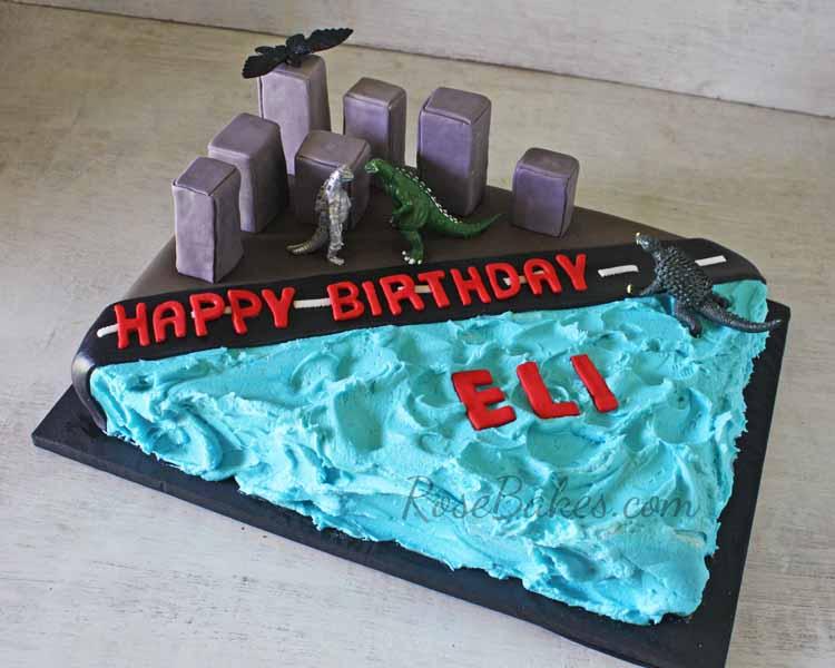 Easy Godzilla Cupcakes Rose Bakes
