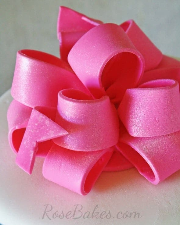 Hot Pink Poofy Bow