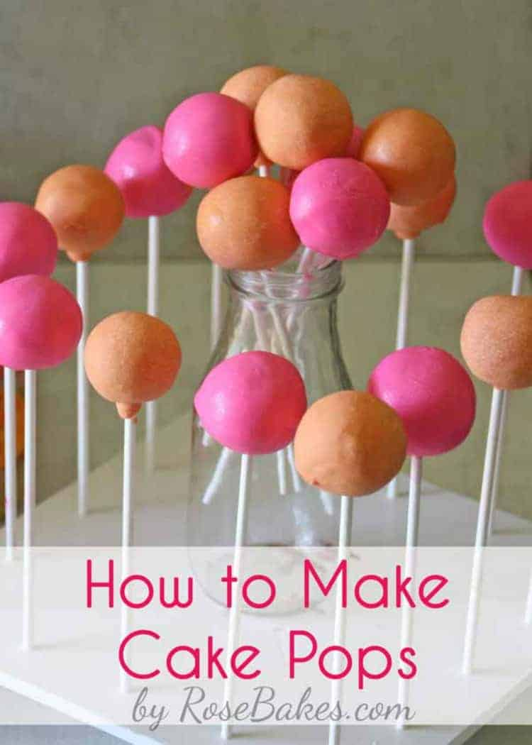 how to make cake pops rose bakes. Black Bedroom Furniture Sets. Home Design Ideas