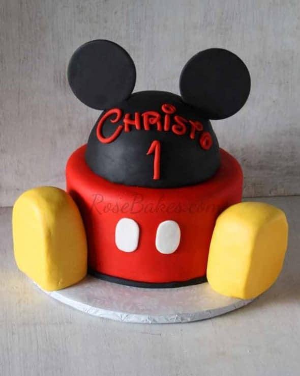 Mickey Mouse Head Cake Pan