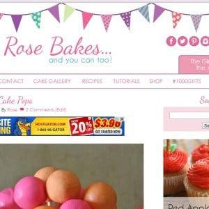 RoseBakes dot com