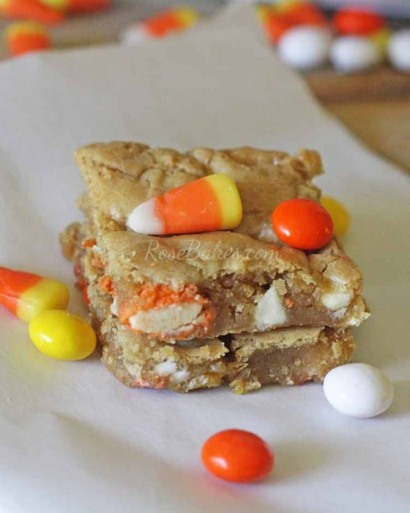 White Chocolate Kit Kat Blondies Recipes — Dishmaps