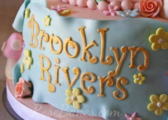 Brookllyn Rivers Vintage Fairy Cake