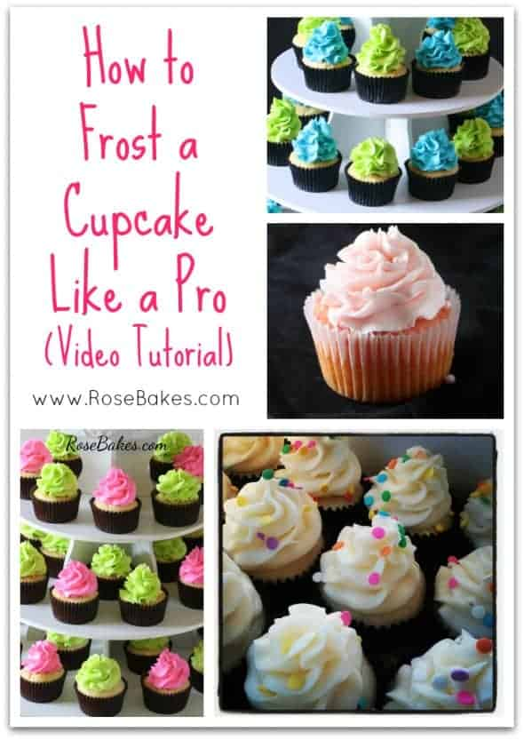 How to Frost a Cupcake Like Pro Video Tutorial
