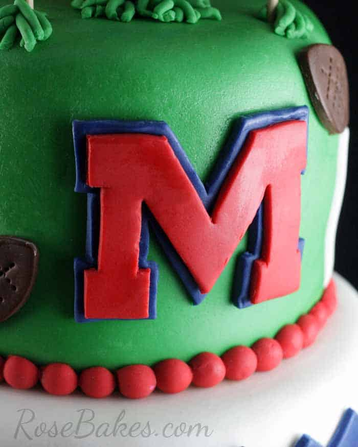 Phenomenal Ole Miss Rebels The Grove Cake Rose Bakes Funny Birthday Cards Online Fluifree Goldxyz