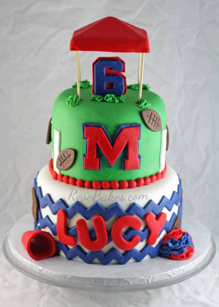 Outstanding Ole Miss Rebels The Grove Cake Rose Bakes Funny Birthday Cards Online Fluifree Goldxyz