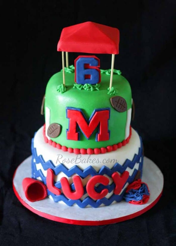 Ole Miss Rebels Quot The Grove Quot Cake Rose Bakes