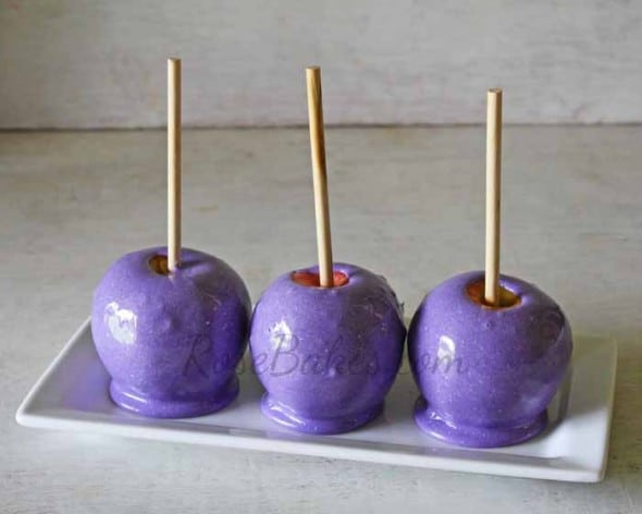 Purple Candy Apples 2