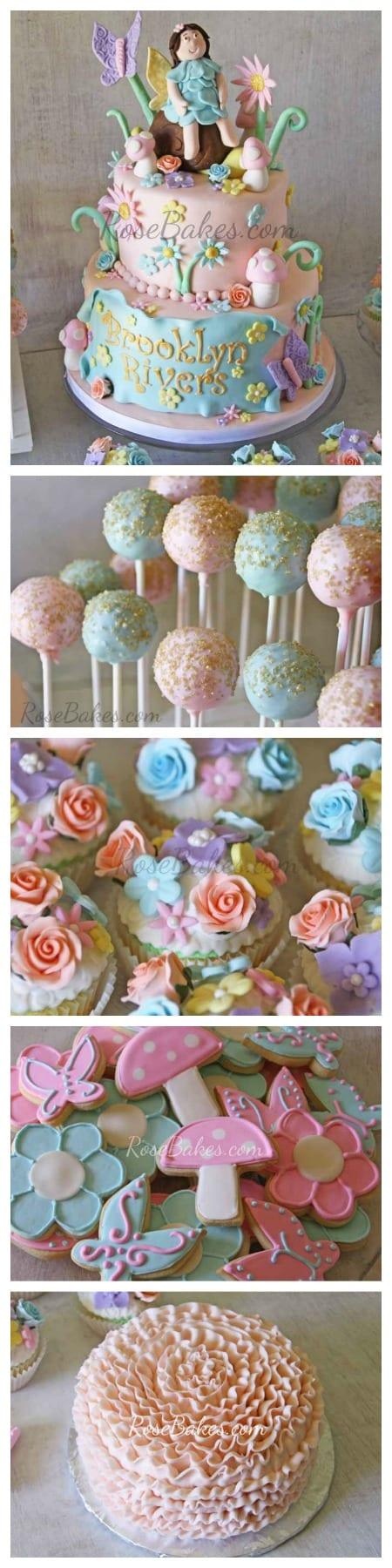 Vintage Fairy Garden Party RoseBakes.com