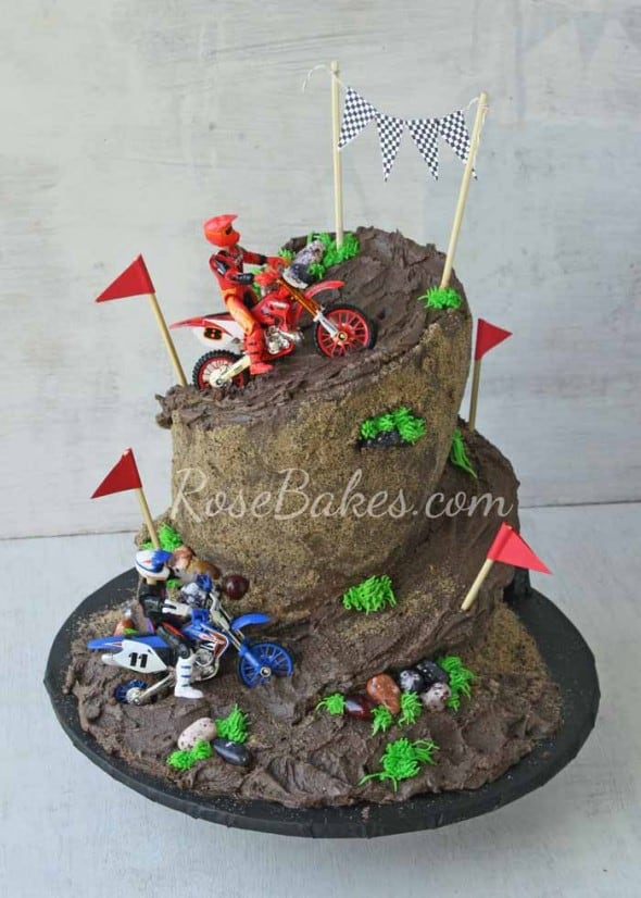 Dirt Bike Racing Cake Rose Bakes