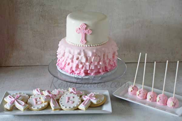 Christening Cake Pops Recipe