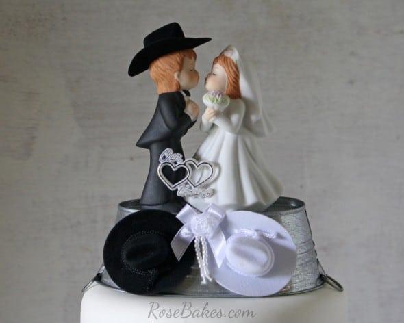 Cowboy Western Cake Topper