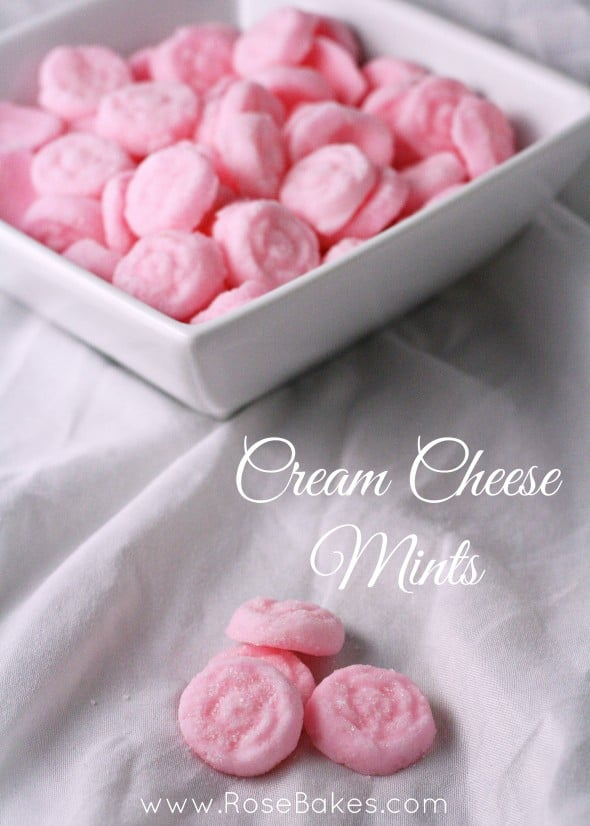 Cream Cheese Mints - Rose Bakes
