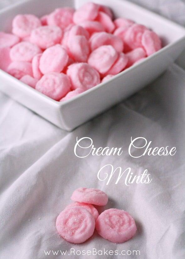 Cream Cheese Mints