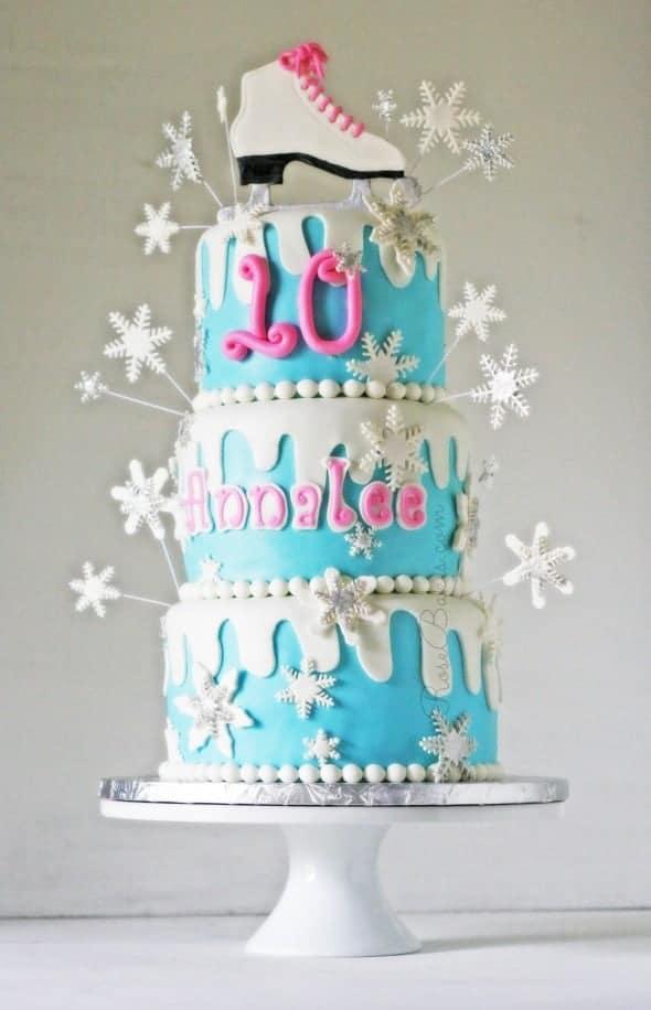 Roller Skate Birthday Cake Designs